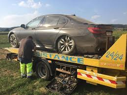 mistakes were made bmw m760li totaled in belgian offroad crash