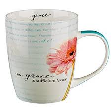 his and mug his grace is sufficient inspirational mug 2