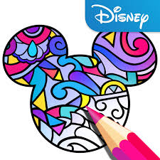 make my own coloring book disney launches its own coloring book app techcrunch