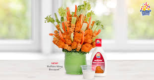 eatables arrangements new edible arrangements buffalo wing bouquet edible news