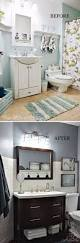 before and after 20 awesome bathroom makeovers hall bathroom