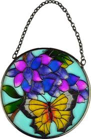 stained glass butterfly l new stained glass suncatcher home garden ornament hanging window sun