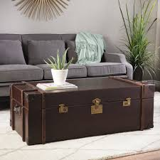 Trunk Coffee Table Modern Trunk Coffee Table Home Design Inspirations
