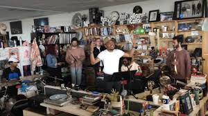 Npr Small Desk Everyone At Npr Freaked Out Chance The Rapper S Tiny