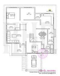 kerala floor plans floor plan and elevation by aplus builders kerala home design