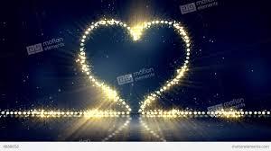 heart shaped christmas lights heart shape christmas lights loop background stock animation 4888658