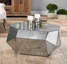 small mirrored coffee table displaying photos of small mirrored coffee tables view 3 of 20 photos