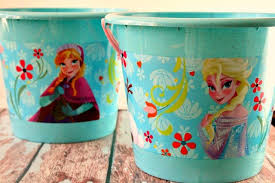 easter buckets frozen easter basket decorated eggs olive co