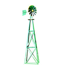 outdoor water solutions 20 ft ornamental windmill oms0016 the