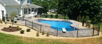 backyard pool landscaping tri cities tennessee landscape design installation pools