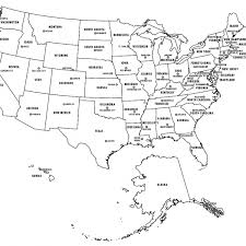 united states map with states and capitals labeled labeled map of united states picture of the map of the united