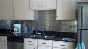 metallic kitchen backsplash kitchen metallic subway tile stainless steel subway tile