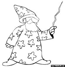 wizard coloring free wizard coloring colorir