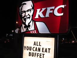 Kfc All You Can Eat Buffet by The Internet Is In America I Went To A Kentucky Fried Chicken