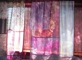Cotton Tie Top Curtains by 18 Cotton Tie Top Curtains Fiji Fully Lined Cream Lace