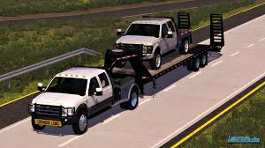 minecraft pickup truck 2010 ford f 350 drw with western hauler flatbed modhub us