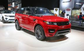 red land rover 2016 land rover range rover sport hst limited edition photos and