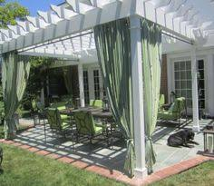 Outdoor Canvas Curtains Pergola With Outdoor Canvas Panels Diy With Painter U0027s Drop