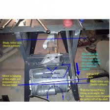 craftsman 10 inch table saw motor restoring an old craftsman table saw page 2 woodworking talk