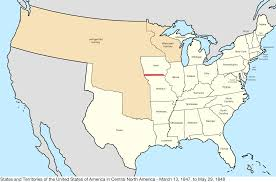 Unite States Map by File United States Central Map 1847 03 13 To 1848 05 29 Png