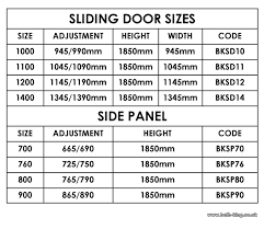 Patio Door Sizes Uk Patio Door Dimensions