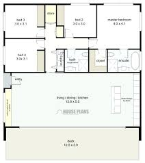 small 4 bedroom floor plans small bedroom floor plans 3 bedroom house plan one story dashing for