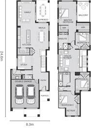 Narrow Block Floor Plans 134 Best Proyectos Casa Habitacion Images On Pinterest