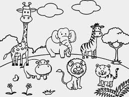 zoo coloring pages preschool zoo animals coloring pages cartoon luxury scene ribsvigyapan com