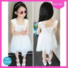 dress anak dress anak perempuan white brandice jual baju wanita pria