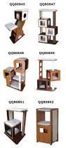 modern cat furniture bsci qq pet factory pet fusion modern cat activity tree scratching
