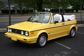 volkswagen cabrio yellow volkswagen 1990 cabrio i need to build one of these for