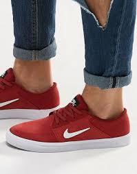 nikes selber designen nike billig laufschuhe sale nike sb portmore sneaker in rot