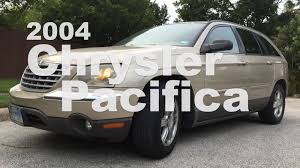 2004 chrysler pacifica an answer to a question few had yet asked