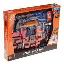 Home Depot Playset Installation Amazon Com The Home Depot 25 Piece Toy Tool Belt Set Toys U0026 Games