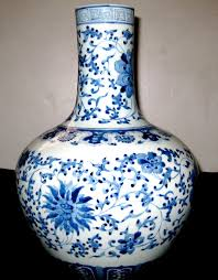 Chinese Hand Painted Porcelain Vases Chinese Vases Blue And White Vase Porcelain U0026 Pottery China