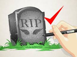 how to draw a gravestone 11 steps with pictures wikihow