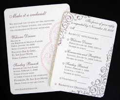 brunch wedding invitation designing invitation enclosures for wedding events