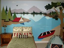best 25 camping room ideas on pinterest boys camping room camping theme kids room by artist leiann klein