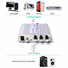 sony home theater system push power protector son 169 300w 12v super bass mini hi fi stereo amplifier booster