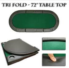 Texas Holdem Table by Poker Table Top Deluxe Texas Holdem Folding Tabletop Blackjack
