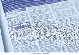 Seeking Ad Lonely Hearts Ad Stock Photos Lonely Hearts Ad Stock Images Alamy