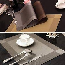 dining table place mats ebay