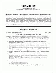 Resume Warehouse Examples by Manufacturing Manager Resume Samples Free Resume Example And