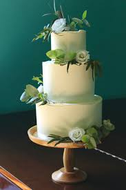Wedding Cake Green Wedding Cakes Yolk