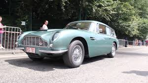 Ultra Rare Aston Martin Db5 Shooting Brake In Racing Green Is