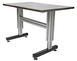 Industrial Computer Desks Adjustable Height Table U0026 Workbenches Industrial Workstations