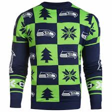 seattle seahawks ugly sweaters light up sweaters holiday