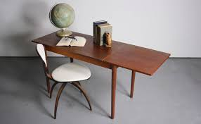 sleek desk sleek and simple arne vodder danish modern writing desk abt modern