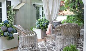 create rustic cottage charm on your patio french country