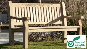 memorial benches personalised teak benches from memorial benches uk